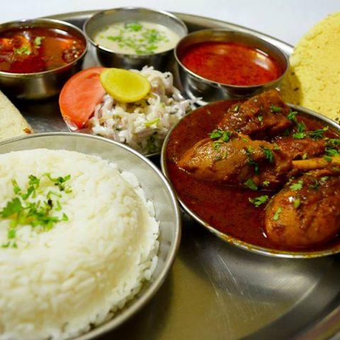 Non-veg Curry Set Thali